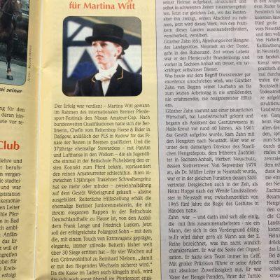 Reiten & Zucht 1999